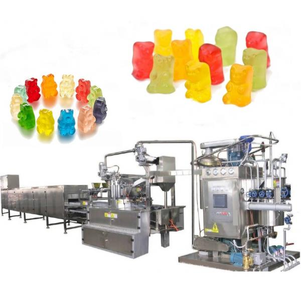 Electric Gummy bear candy maker with detachable silicone gummy worm mold, Ice trays
