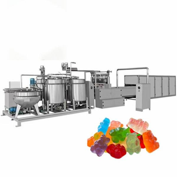 High quality building block jelly candy sweets chinese candy gummy candy maker