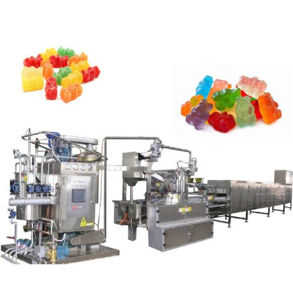 Full Production Line for Gummy Candy 300kg/H