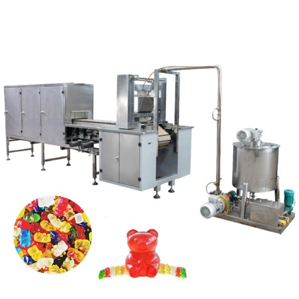 Gummy candy machine sea moss gummies production line with gummy bear packaging
