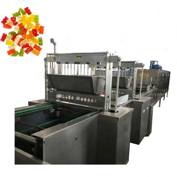 Hot sell automatic gummy jelly vitamin bear candy production line